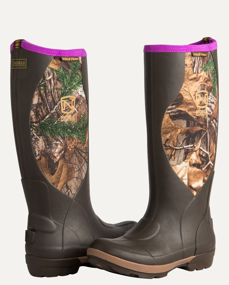 MUDS® Cold Front Women's High Realtree Xtra® Camo