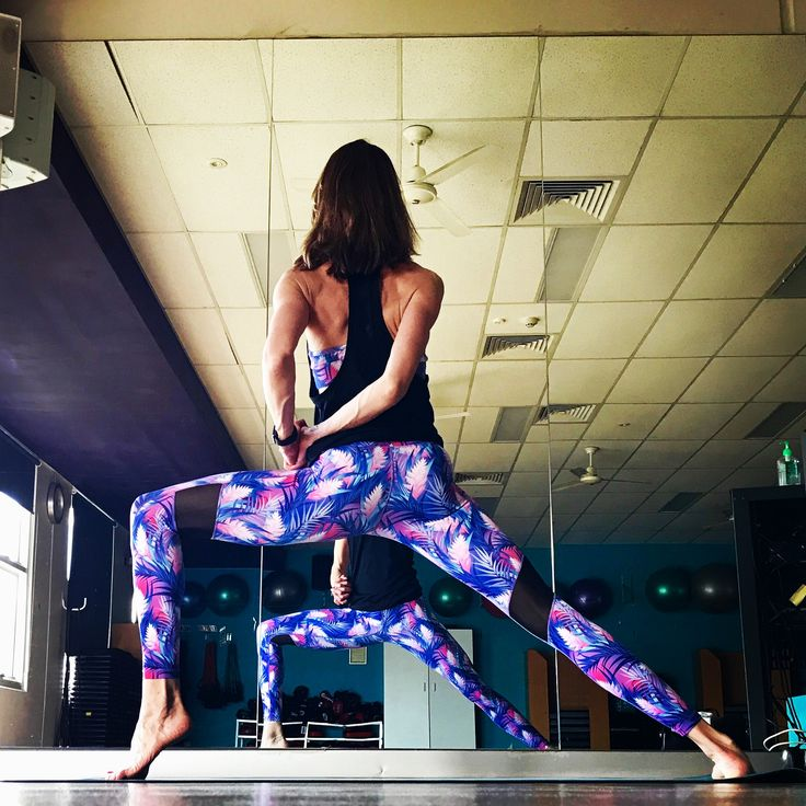 Tropical Palms Print, gorgeous yoga pants that are so vibrant you'll get noticed!