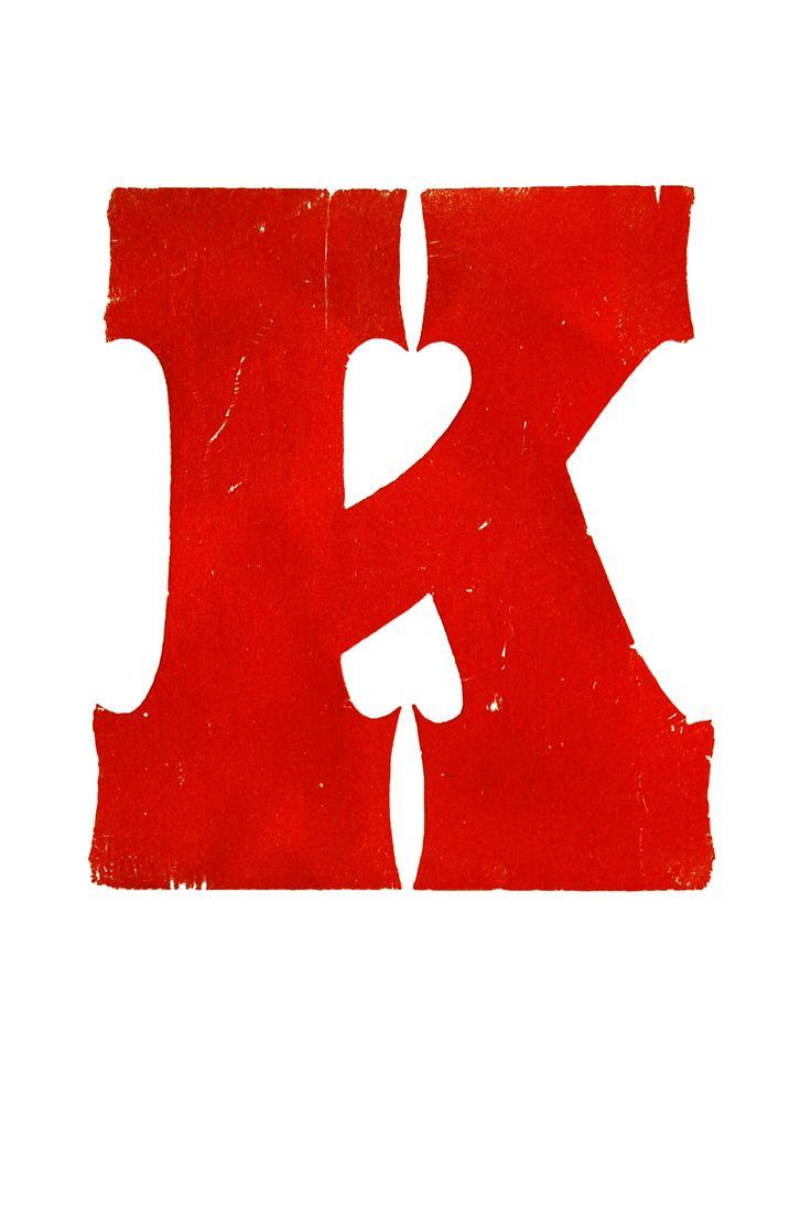 The Letter K