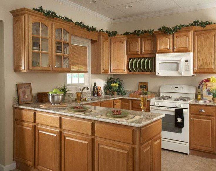 decoración de cocinas con muebles de madera