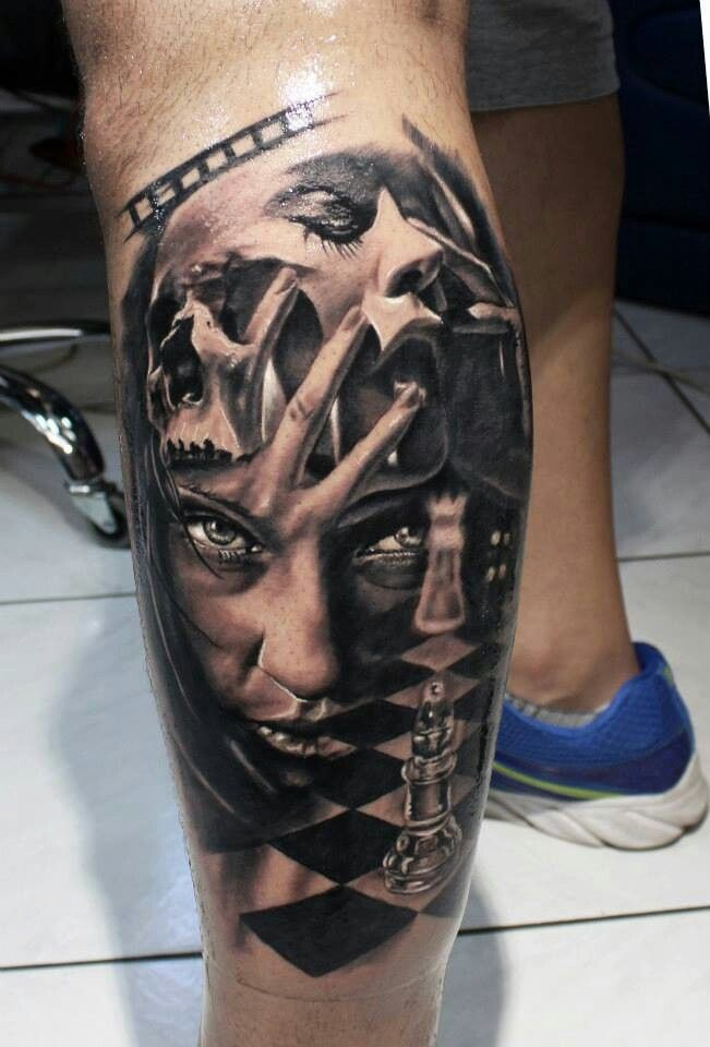 King And Queen Chess Piece Tattoo Chess pieces on pinterest  73