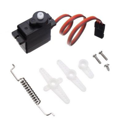 Extra Spare HG - S3003 Steering Servo Set for HG P401 P402 P601 RC Car-9.31 and Free Shipping  GearBest.com