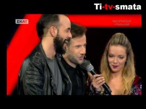 Μουζουράκης – Μαραβέγιας τραγουδούν το «Φίλα με ακόμα» στο Voice για μια...