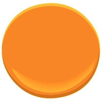 Benjamin moore orange paint fascinating the best orange for Shades of orange paint
