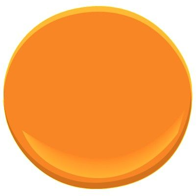 citrus orange 2016-20 Paint - Benjamin Moore citrus orange Paint Color Details