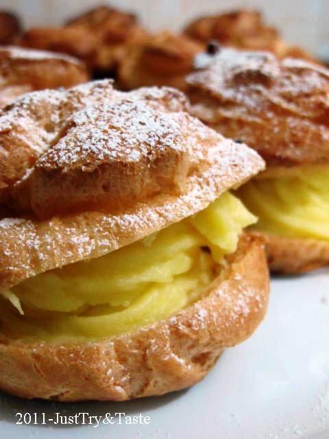 Kue Sus Isi Vla Vanilla | Just Try & Taste