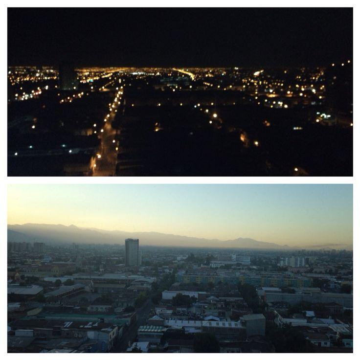 Noche, día