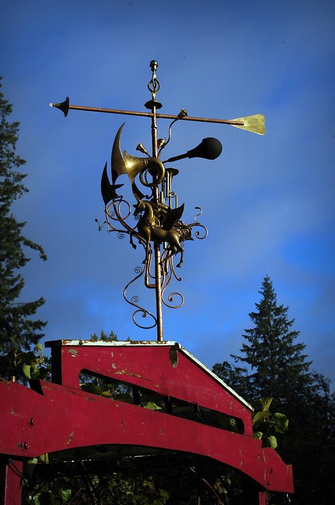 weather vane by douglas walker sculpture - Weather Vanes