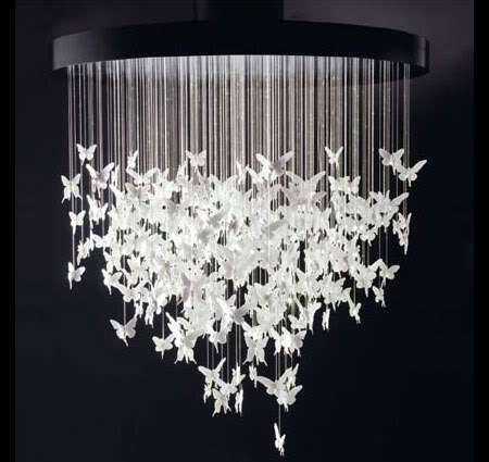 Fabulous Fantasy Furniture - The Lladro Re-Cyclos Magical Chandelier is a Fairytale Come True (GALLERY)