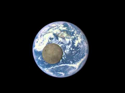 Ever Watch the Moon Pass In Front of the Earth? Incredible | I Read Encyclopedias for Fun