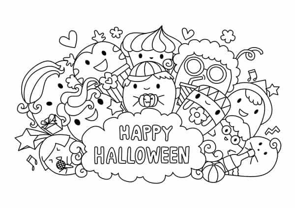 Relaxing Halloween Coloring Pages Halloween Coloring Halloween Coloring Pages Free Halloween Coloring Pages