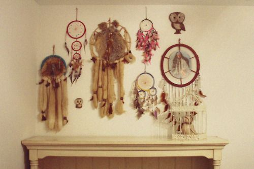 A group of dreamcatchers
