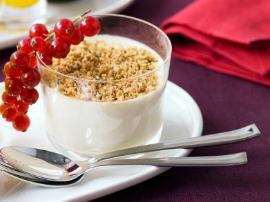 Mascarponebavarois met koffiecrumble (Libelle Lekker!)
