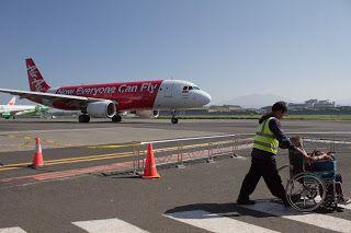 Customer Services at Husein Sastranegara International Airport, Bandung Jawa Barat - Indonesia