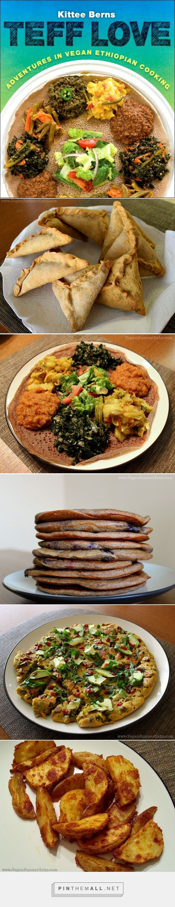 Vegan Ethiopian deliciousness from Teff Love by Kittee Berns! A full review, interview with the author, and a simple vegetable side dish recipe to please anyone!