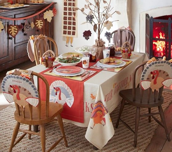Thanksgiving Tree Centerpiece Pottery Barn Kids