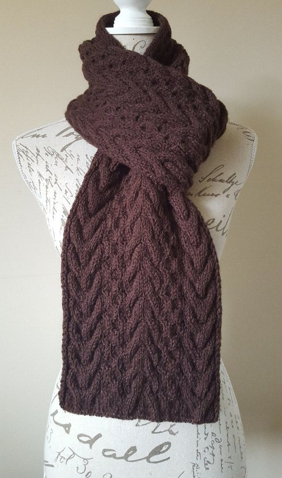 UllyWoolly Hand Made Knitted Scarf