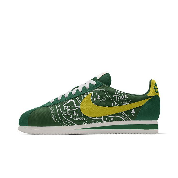 Nike Cortez Premium iD Men's Shoe Size 10.5 (Green)