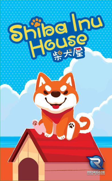 Shiba Inu House is a colorful game where players are trying to build dog houses. Each challenge shows one to three dog houses that are made up of sections. Players receive cards depicting different sections of the houses and race against each other to arrange their cards correctly before anyone else.