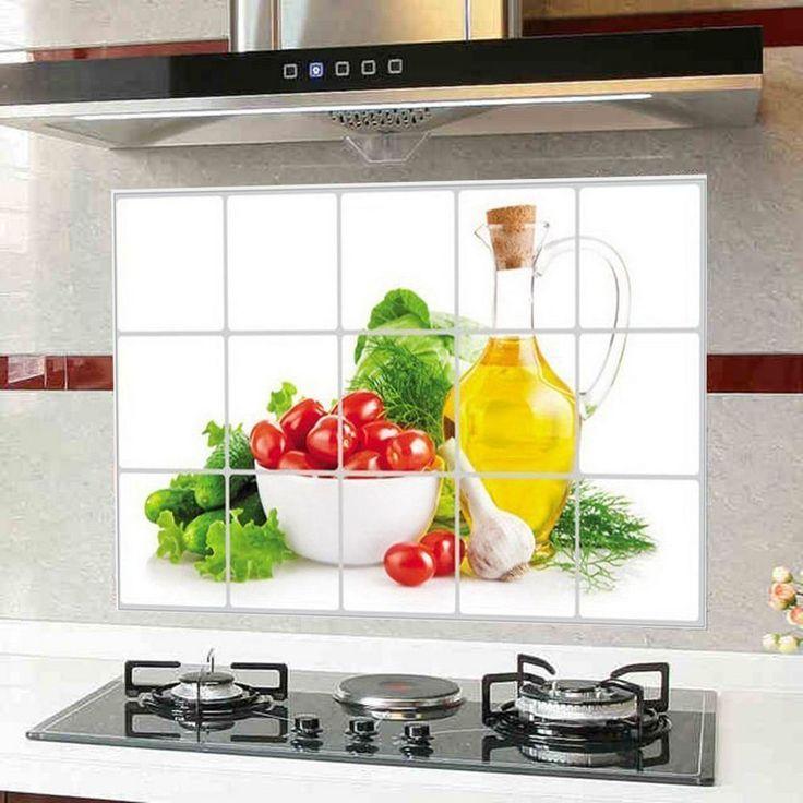 32 best kücheneinrichtung images on Pinterest Bamboo, Children - wandverkleidung küche glas