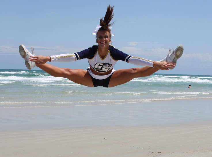toe touch!
