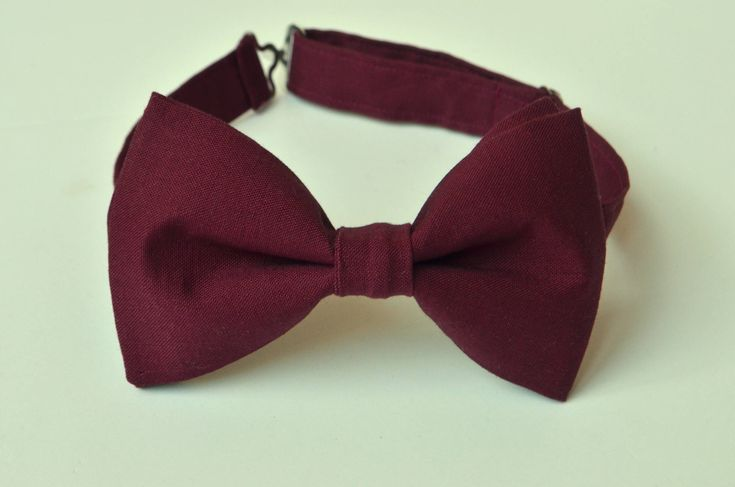 Burgundy Bow Tie-Wine Bow Ties-Mens Bow Tie-Kids Bow Tie-Maroon Bow Tie-Adult Bow Tie-Groomsmen Bow Ties-Wine Ring Bearer Bow Tie-Kid Bowtie by TwoSwallowsCo on Etsy https://www.etsy.com/listing/553124439/burgundy-bow-tie-wine-bow-ties-mens-bow