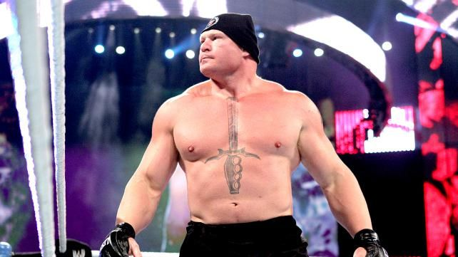 Brock Lesnar Pins Down CM Punk In the Latest WWE Match At Summerslam …Who Can Stop This Feud Man?