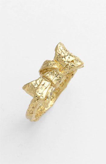 MARC BY MARC JACOBS 'Exploded Bow' Ring | Nordstrom      $48.00      Item #654689