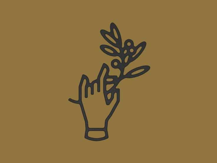 logo / Hand & Twig  by Peter Komierowski - Dribbble