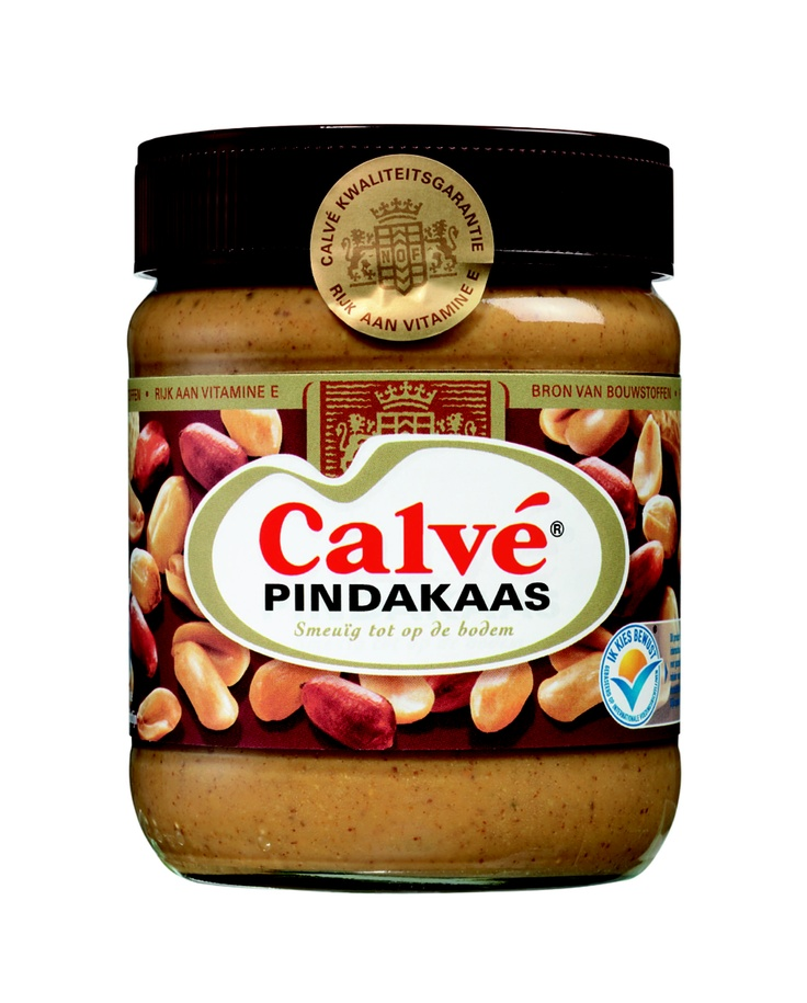 "Calvé Pindakaas. ""The peanutbutter"" of Holland - nothing is able to keep up with the this here :("
