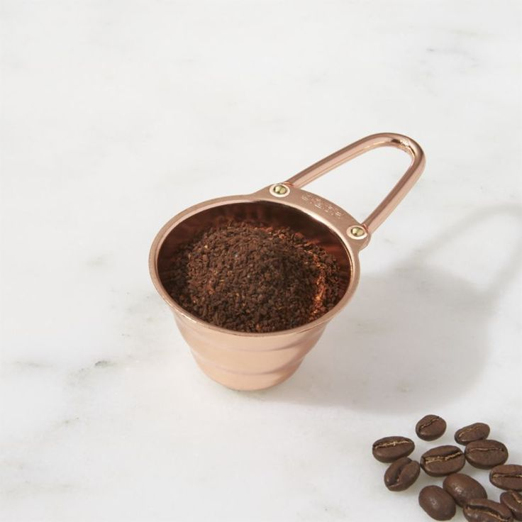 Shop Hario Copper Coffee Scoop. Elevate your coffee making to an art with this beautiful copper coffee scoop.