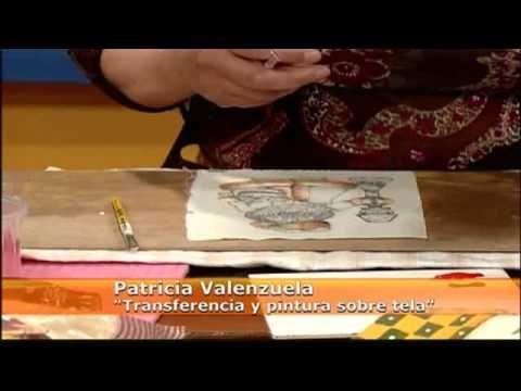SIEMPRE JUNTOS: Técnica de transferencia y pintura sobre tela
