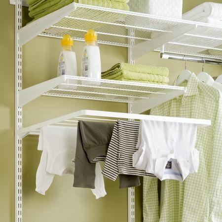 Howards Storage World | Elfa Folding Drying Shelf