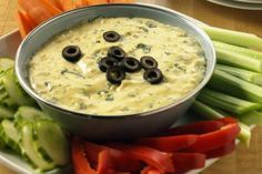 Dip With Ripe Olives - Image Studios/Getty Images