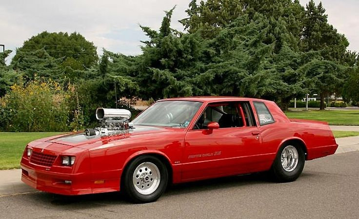 Old Chevy Cars >> '84 Monte Carlo SS Blown | Monte Carlo SS | Chevy, Muscle ...