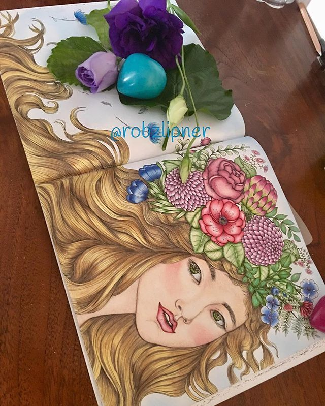 Cute Photo Coloring Book 93 The Mysterious Library colouring