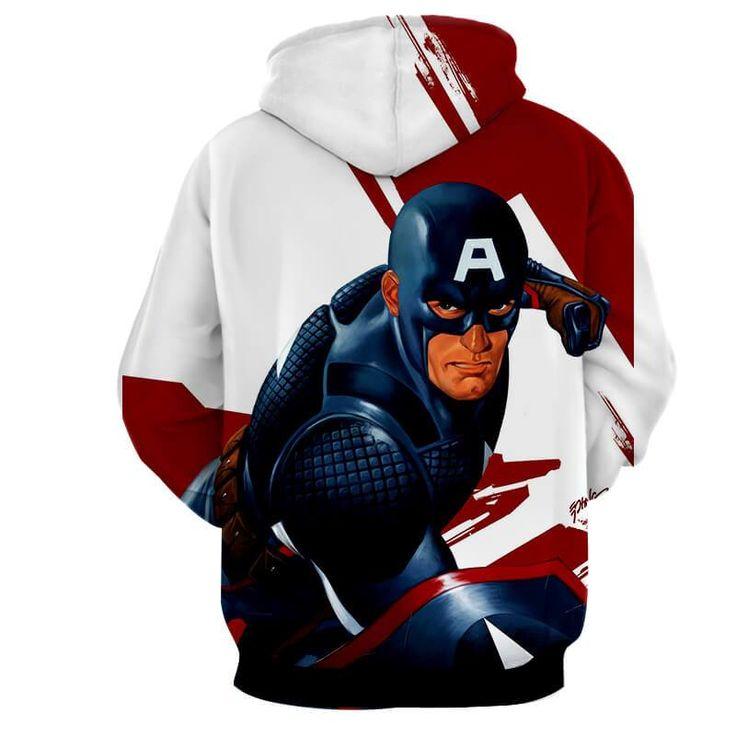 Captain America Versus Red Rated Star At Siberia