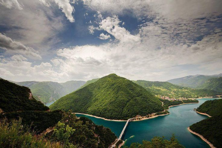 Pivsko jezero #Montenegro