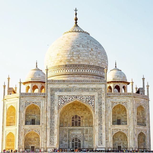 Details on the Taj Mahal