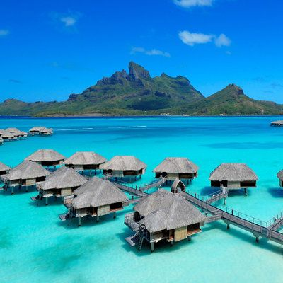 Best 25 resorts in bora bora ideas on pinterest for Bungalows flotantes en bora bora