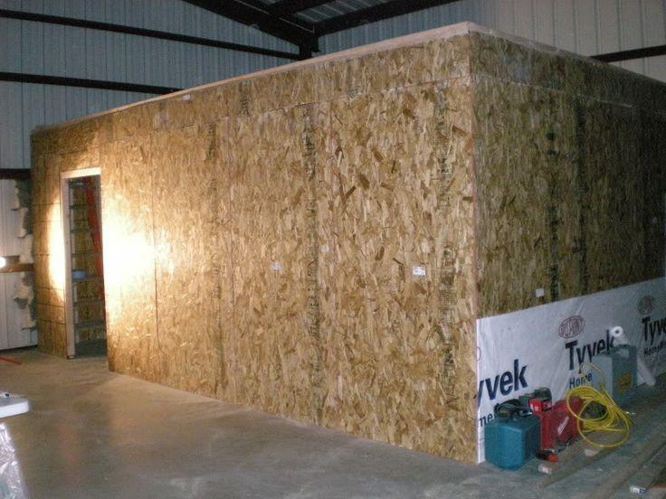 Building small 20x10 room inside shop the garage journal for 20x10 garage door