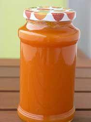 recette Confiture de carottes citron orange marmelade d'orange sucre