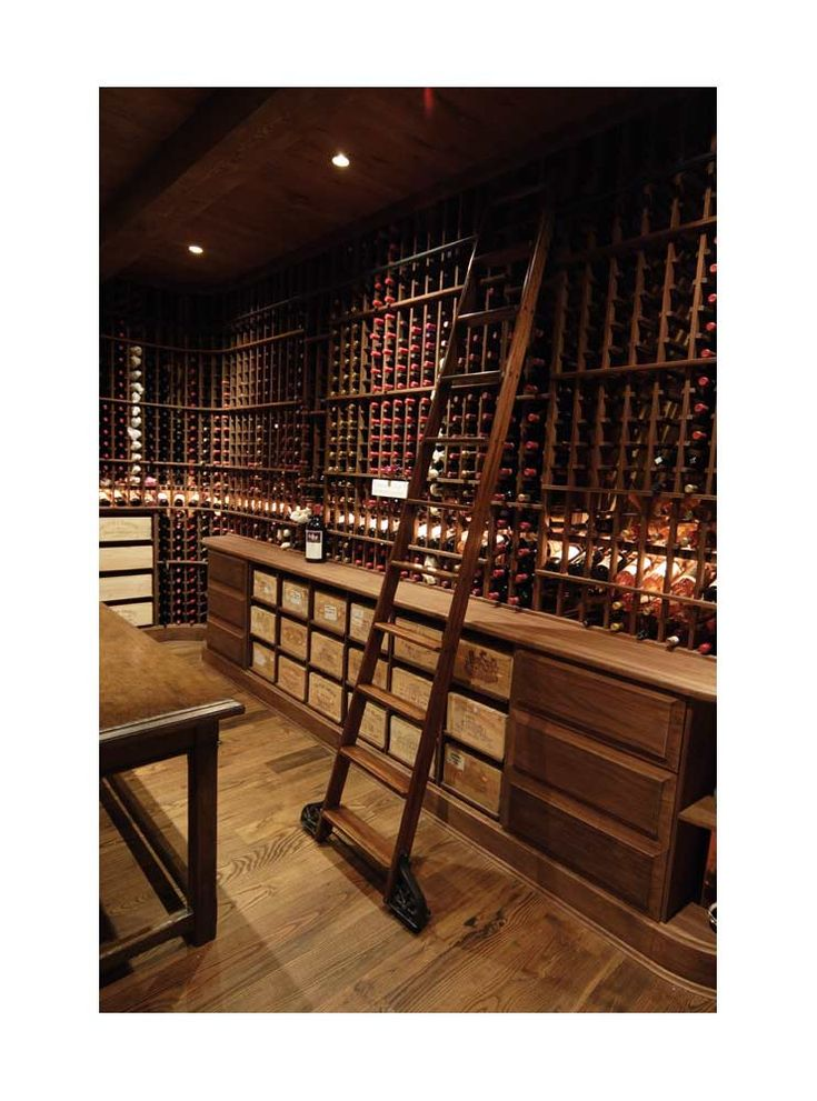 17 best images about wine cellars on pinterest ladder for Cost to build a wine cellar