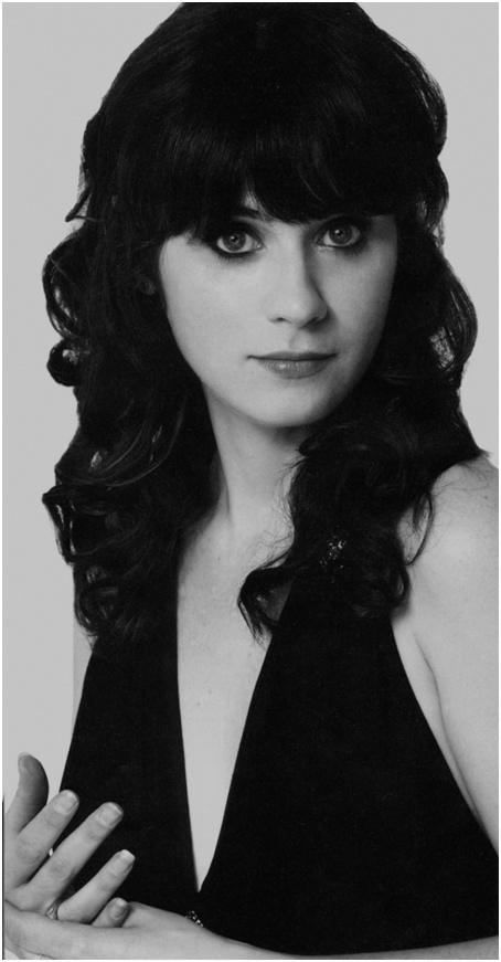 Zoey Dechanel. I think she's the prettiest person ever.