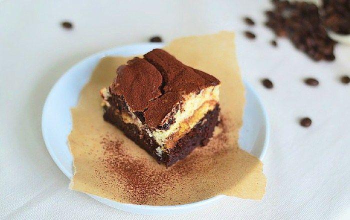 Tiramisu Brownies! Dessert, Kuchen oder beides?