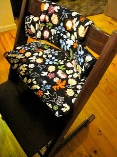 Pattern & How to make a cushion for a Tripp Trapp