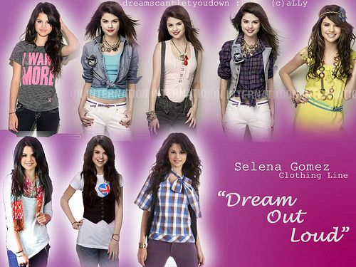 "Selena Gomez Clothing Line ""Dream Out Loud"""