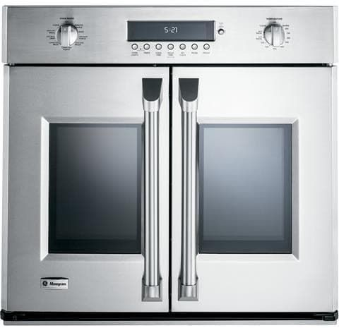monogram zet1fhss 30 inch built in french door convection oven