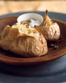 roasted garlic pot roast stuffed baked potatoes baked stuffed potatoes ...