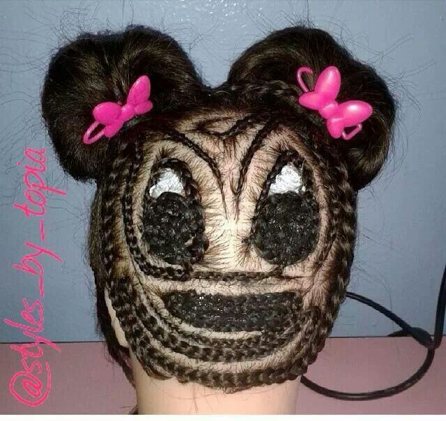 Minnie Mouse Braided Twist Dreads Amp Braids For Every
